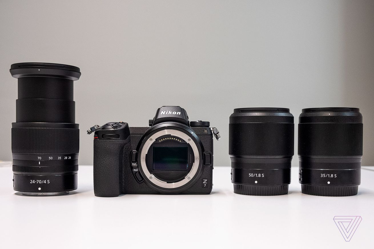 Nikon strikes back at Sony with first full-frame mirrorless cameras