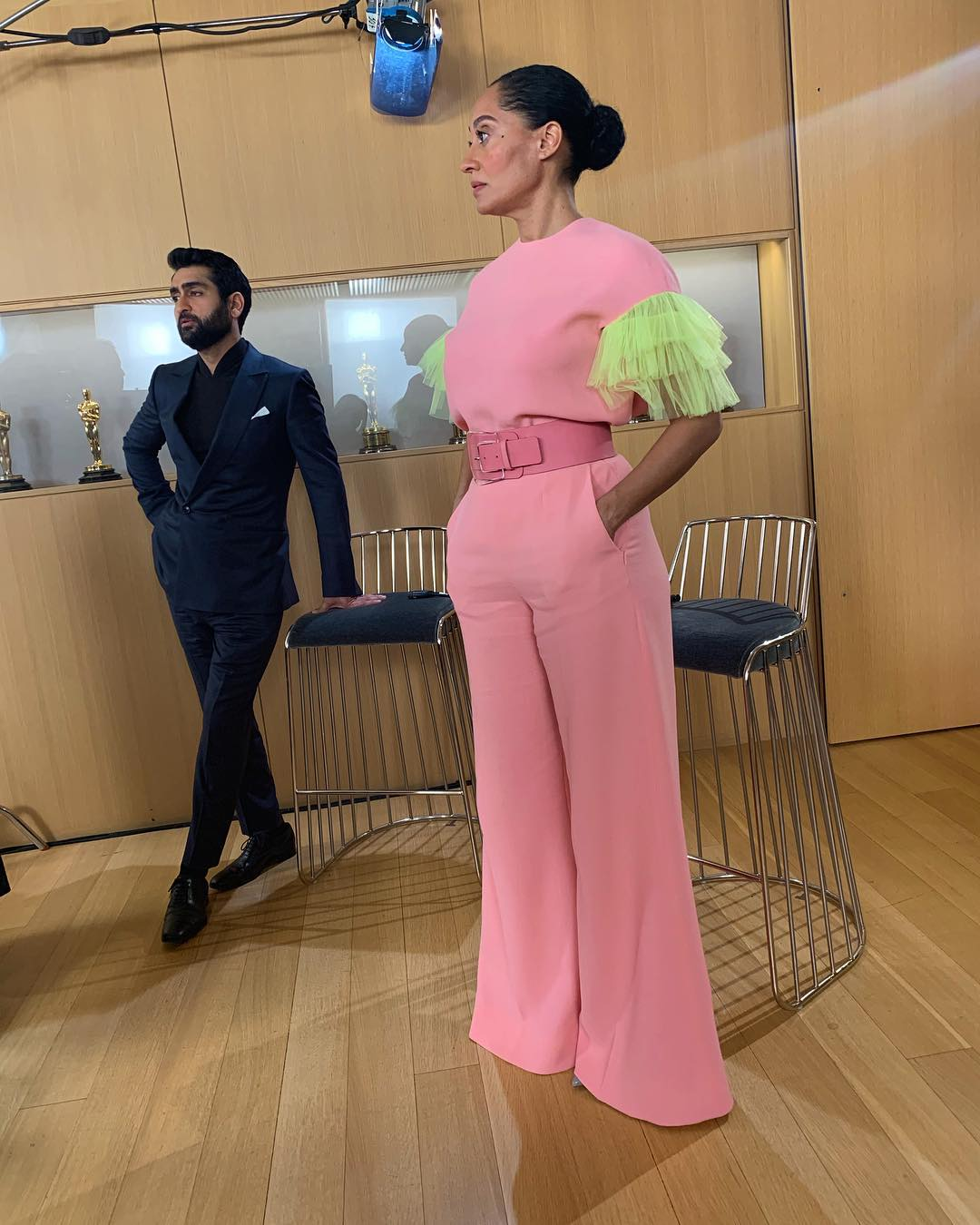 3e56f0f263 Tracee Ellis Ross Just Rocked Neon Tulle Ruffles and Now Anything Is  Possible