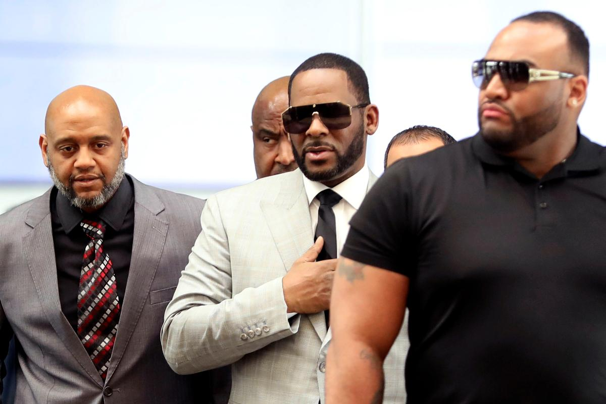 R&B Singer R  Kelly pleads not guilty to new felony sexual